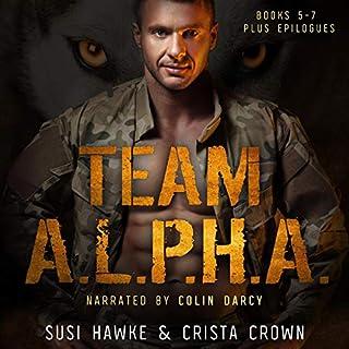 Team A.L.P.H.A.: Books 5-7 cover art