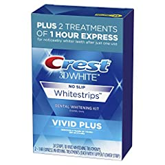 Removes 5 years of tough coffee, wine, and smoking related teeth stains for a whiter smile Use Crest Vivid White strips for visibly whiter teeth with full results in 10 days Use Crest Vivid White strips once a day for 30 minutes Uses the same enamel ...