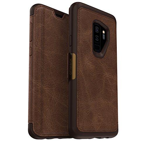 OtterBox Strada - Funda de Piel Formato Folio para Samsung Galaxy S9+...