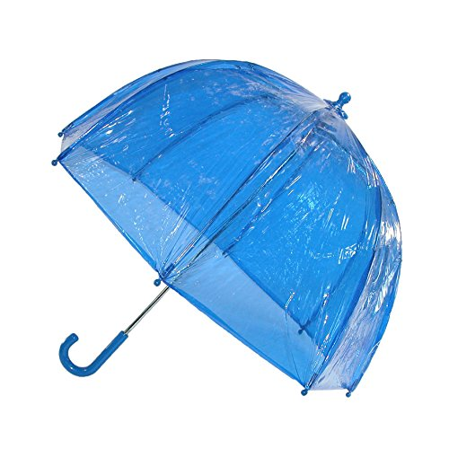 by totes Kid's Clear Bubble Umbrella with Easy Grip Handle