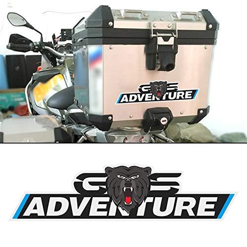 Motorrad Aufkleber Trunk 1200 GS Aufkleber Aufkleber Topcases Box Gepäck Aluminium for BMW G310gs F750gs F800GS F850gs R1200GS R1250gs GS ADV Adventure (Color : 219mm)