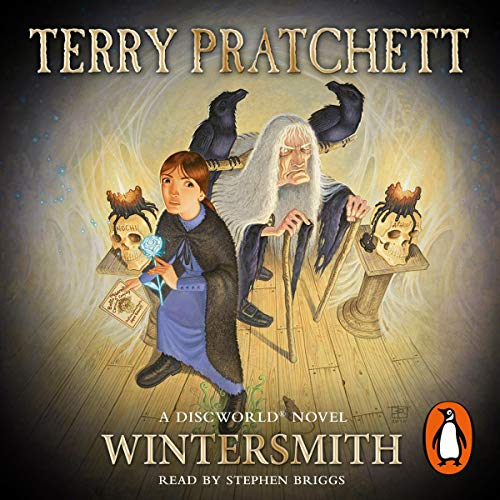 Wintersmith                   Written by:                                                                                                                                 Terry Pratchett                               Narrated by:                                                                                                                                 Stephen Briggs                      Length: 7 hrs and 55 mins     9 ratings     Overall 4.9