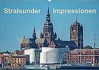 Stralsunder Impressionen (Wandkalender 2022 DIN A2 quer): Ansichten der Hansestadt Stralsund (Monatskalender, 14 Seiten )