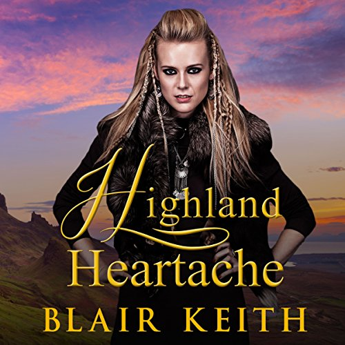 Highland Heartache audiobook cover art