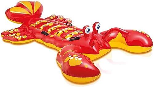 BAIYI Swimmingpool-Größe Hummer-Einfassung, aufblasbare Wasser-Einfassung Wassersport-Produkte der Kinder Aufblasbare Spielwaren der Kinder, Gifts-213  137cm der Kinder