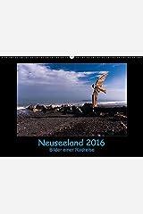 Neuseeland 2016 - Bilder einer Radreise - Wandkalender 2016 Calendar