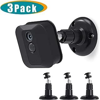 Blink XT2 Camera Wall Mount Bracket, Mrount 360 Degree Adjustable Mount for Blink XT2 Blink XTOutdoor/Indoor Camera, Fits Blink Home Security Camera System Accessories(3 Pack, Black)