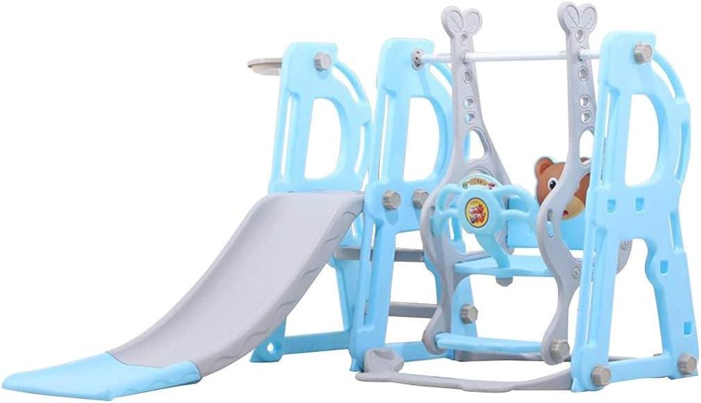 OKBOP Toddler Climber and Swing Set, 3 in 1 Climber Slid Playset