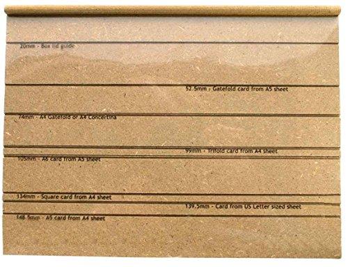 MDF Creaser Board - Maak je eigen dozen, kaarten en enveloppen