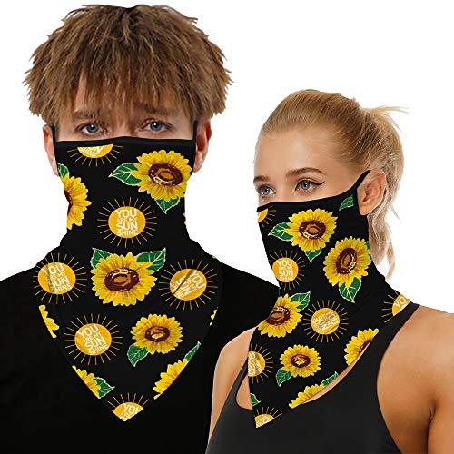 "Neck Gaiter Face Cover Mask, Sun Face Scarf Mask Bandana For Women Man Balaclava-Fishing Cycling Motorcycle Bike mask""you are my sunshine"""