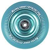 Metal Core Rueda Radical Monocromática para Scooter Freestyle, Diámetro 110 mm (Azul)