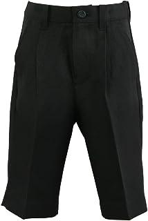 エレガンテポポ フォーマルハーフパンツ 黒無地 100~160cm halfpants