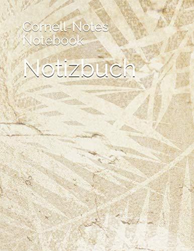 Notizbuch: Cornell-Notes Notebook, Journal liniert