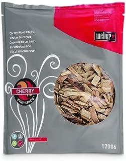 ウェーバー(Weber)  バーベキュー コンロ BBQ グリル ウッドチップ-チェリー スモークチップ 燻製 【日本正規品】 17006