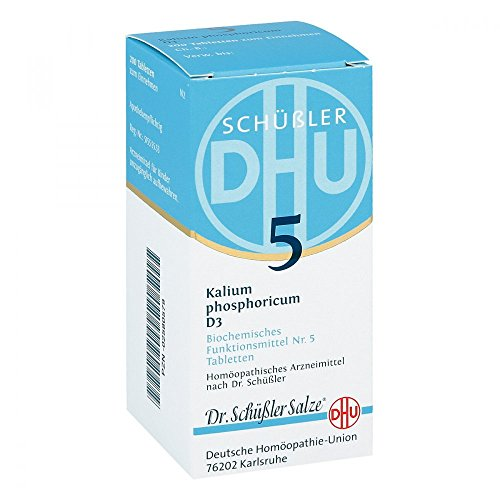 DHU Schüßler-Salz Nr. 5 Kalium phosphoricum D3 Tabletten, 200 St. Tabletten