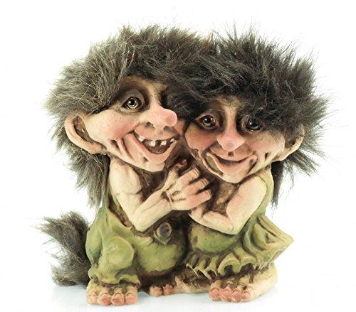 NyForm Troll Paar Pärchen Norwegen Souvenir Figur Fabelwesem