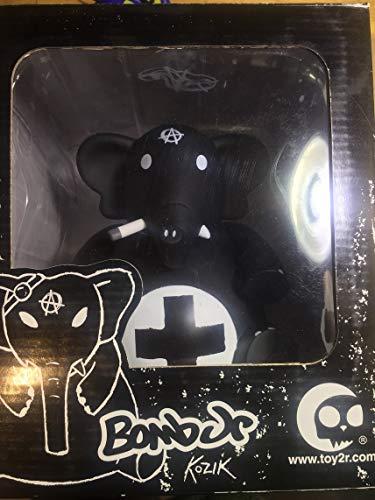 Frank Kozik Dr. Bomb Jr. Anarchy Black Elephant Vinyl Art Figure