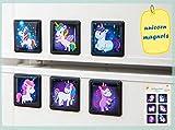 MORCART Einhorn Kühlschrank Magnete Set Kühlschrankmagnete Lustige Dekorative Fridge Magnets Nette...