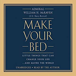 Make Your Bed audiobook cover art