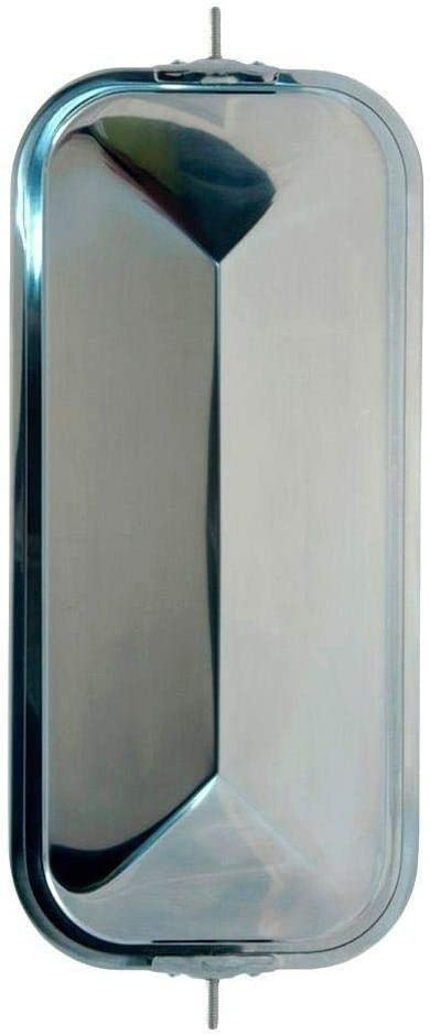 Tampa Mall Grote 16273 OEM-Style Peak-Back West Mirror Stainless National products Coast Ste