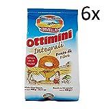6x Divella ottimini biscuits 400g Italien vollkorn cookies kuchen brioche