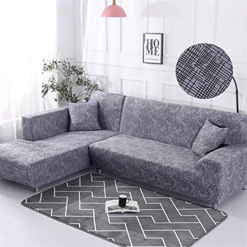 NEWRX Tapa de sofá de Estiramiento Tapa de sofá de Asiento elástico Todo Incluido para la Sala de Estar Muebles Fundas Fundas de (Color : Color 19, Specification : 3 Seater 190 230cm)