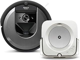 【セット商品】 ルンバ i7 & ブラーバ m6 i715060 m613860 アイロボット ロボット掃除機 床拭きロボット マッピング 水拭き Wi-Fi対応 Alexa対応