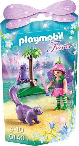 PLAYMOBIL Fairies 9140 Feenfreunde Eule und Stinktierchen, Ab 4 Jahren