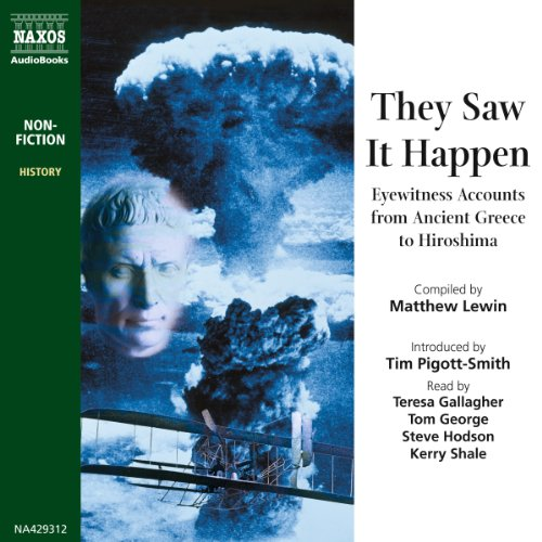 Couverture de They Saw It Happen