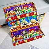 YUYANG Manta para niños con diseño de ratón de dibujos animados, manta para bebé, mascota pequeña, cobertor en el plano de la cuna, 75 x 100 cm, Woody