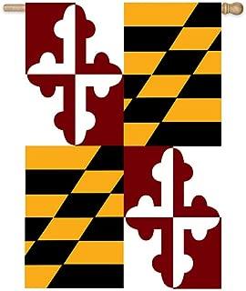 United States Flag Store  FLGDBNR1000028702 Maryland State Banner Flag-(28-inch X 44-Inch)
