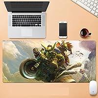 World of Warcraft大型マウスパッド 拡張スピード ゲームマウスパッド フライ ドラゴン マウスパッド ゲーマー オフィス コンピューター マウスマット (900X400X3MM)-B_700*300*3MM
