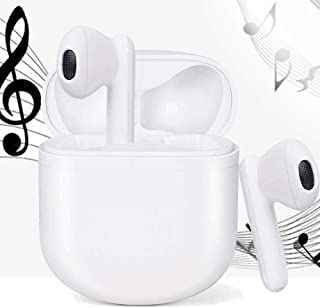 Sponsored Ad - Wireless Headphones Bluetooth 5.0 Wireless Earbuds Built-in Microphone in Earbuds Noise-Cancelling Headphon... photo