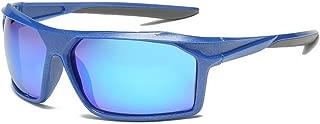 GLJJQMY Sports Polarized Sunglasses Outdoor Riding Glasses Male UV Protective Sunglasses Sunglasses (Color : Blue)
