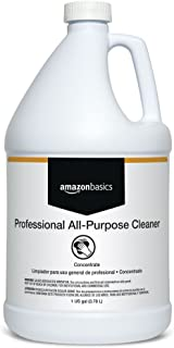 AmazonBasics Professional All-Purpose Cleaner, Concentrate, 1 Gallon, 4-Pack