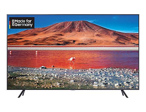 Samsung TU7179 108cm (43 Zoll) LED Crystal Ultra HD TV, HDR, Triple Tuner, Smart TV [Modelljahr 2020] [Energieklasse A]