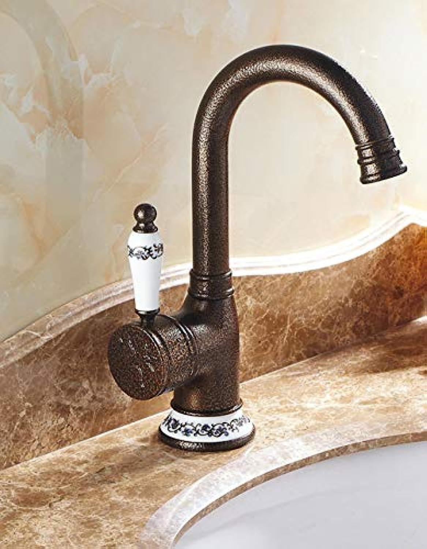 Kreative Europische Bad Wasserhahn Einfache Aufsatzbecken Einzigen Handgriff Gebogene Wasserhahn Aufzug