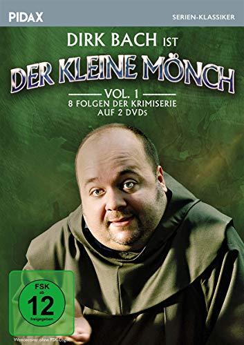 Der kleine Mönch, Vol. 1 / Acht Folgen der humorigen Krimiserie mit Comedy-Star Dirk Bach (Pidax Serien-Klassiker) [2 DVDs]