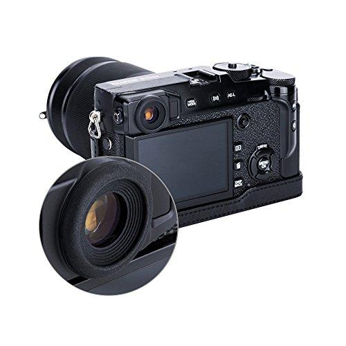 PROfoto.Trend/JJC Weiche Silikon-Gummi-Okular-Augenmuschel für Fujifilm X-Pro2 Kamera - Passend für Nicht-Brillen-Wearers (2 Stück pro Packung)
