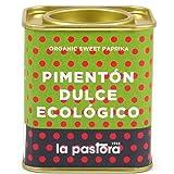 Pimentón Dulce Ecológico 100% Puro - 75 Gramos - Pimentón Dulce - Pimentón en Polvo - Condimenta tus Comidas - Apto para Celíacos - Pimentón Español - Producto Gourmet La Pastora