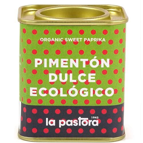 LA PASTORA   Prodotto Gourmet   Paprika Dolce Biologica   75 Grammi   100% Naturale   Paprika in Polvere   Potente Antiossidante   Adatto Ai Celiaci   Spezia Per Paella   Paprika Spagnola