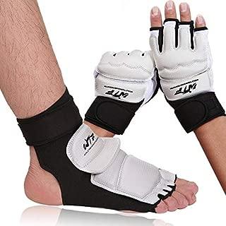 Fafeims EVA Sanda Empeine Guardias Boxeo Foot Guard Taekwondo Foot Protector Gear para Artes Marciales