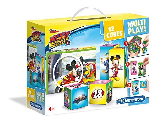 Clementoni mouse Mickey Rompecabezas multijuego, multicolor (41508) , color/modelo surtido