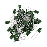 50 Pcs Radial Leads Polyester Film Cap Capacitors 2A333J 100V 33nF 5%