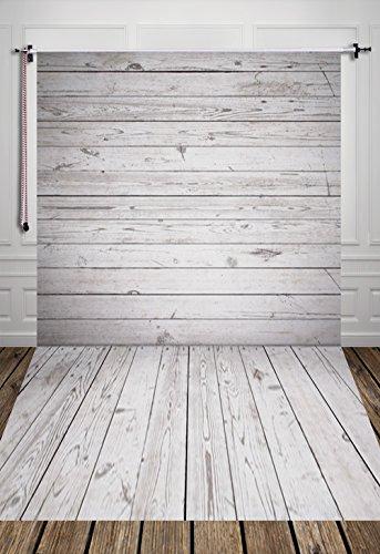 Hua 5x 10ft fondo la fotografía fondo de pared madera gris d-7585