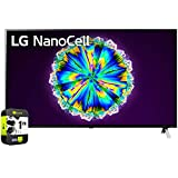 LG 49NANO85UNA 49 inch Nano 8 Series Class 4K Smart UHD NanoCell TV with AI ThinQ 2020 Bundle with 1 Year Extended Warranty