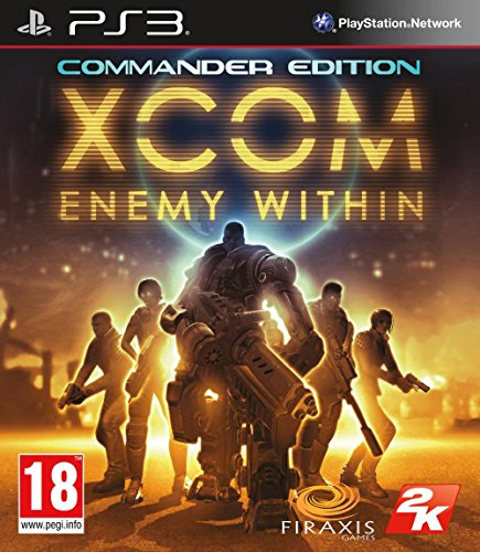 XCOM ENEMY WITHIN PS3 MIX