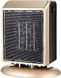 FGDFGDG Configuración de Temperatura del Calentador del Ventilador eléctrico Calentador Auxiliar portátil Caliente 400w / 900w para Calentadores de Espacio eléctricos de baño,Oro