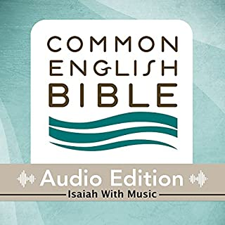 CEB Common English Bible Audio Edition with Music - Isaiah audiobook cover art