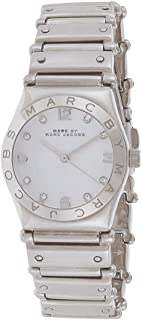 Marc by Marc Jacobs Women's White Dial Stainless Steel Band Watch - MBM3052